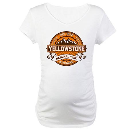 Yellowstone Pumpkin Maternity T-Shirt