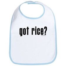got rice? Bib