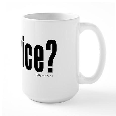 got rice? Large Mug