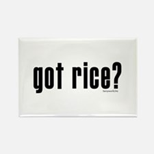 got rice? Rectangle Magnet (10 pack)