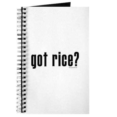 got rice? Journal