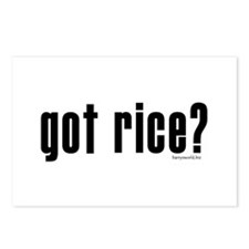 got rice? Postcards (Package of 8)