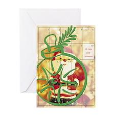 15 Days to Christmas Greeting Card