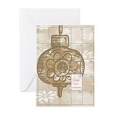6 Days to Christmas Greeting Card
