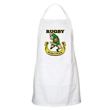 Irish leprechaun rugby Apron
