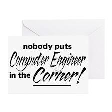 Computer Engineer Nobody Corner Greeting Cards (Pk