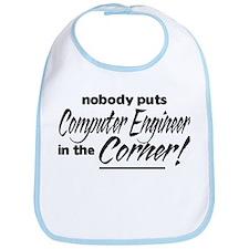 Computer Engineer Nobody Corner Bib