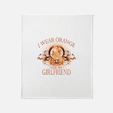 I Wear Orange for my Girlfriend (floral) Stadium