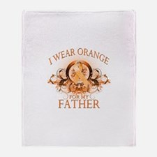 I Wear Orange for my Father (floral) Stadium Blan