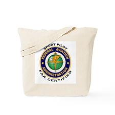 FAA Certified Sport Pilot Tote Bag
