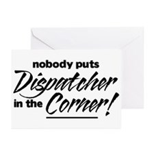Dispatcher Nobody Corner Greeting Cards (Pk of 10)
