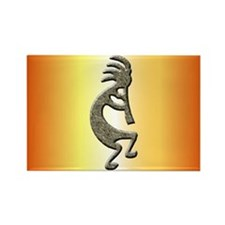 Kokopelli Rectangle Magnet (10 pack)