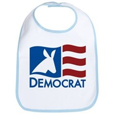 Democratic Flag Bib