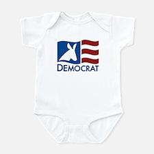 Democratic Flag Onesie