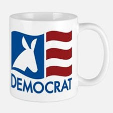 Democratic Flag Mug