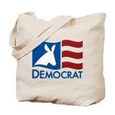 Democratic Flag Tote Bag