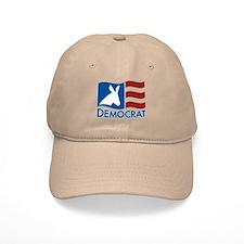 Democratic Flag Baseball Cap