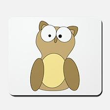 Ominous Owl Mousepad
