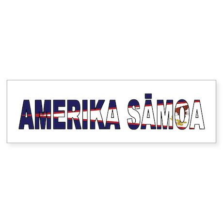 American Samoa Sticker (Bumper)