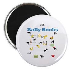 """Rally Rocks v8 2.25"""" Magnet (10 pack)"""