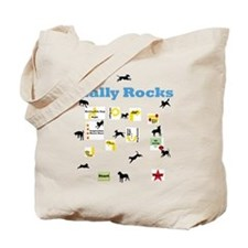 Rally Rocks v8 Tote Bag