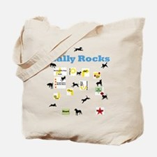 Rally Rocks v8 Tote Bag