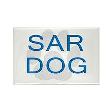SAR Dog Rectangle Magnet