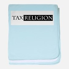tax religion baby blanket