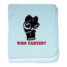 who farted baby blanket