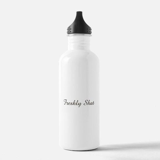 freshly shat Water Bottle