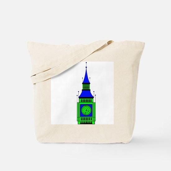 Unique Big ben Tote Bag