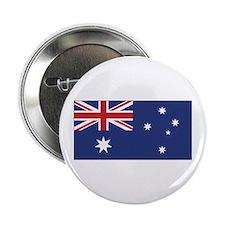 """Australia Flag 2.25"""" Button"""