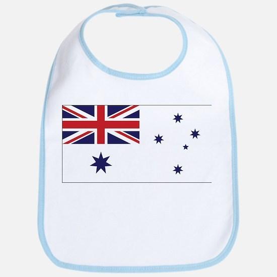 Australia Naval Ensign Bib