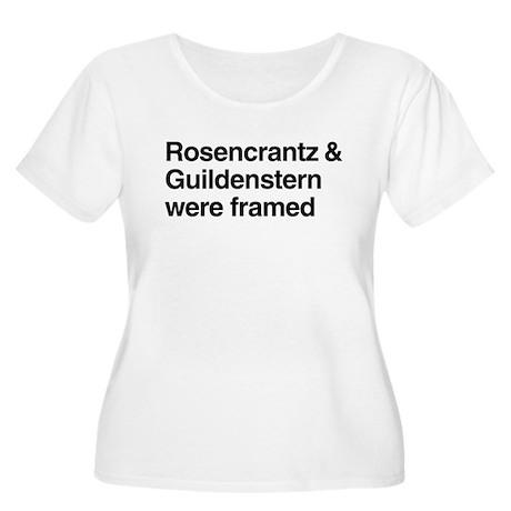 Rosen & Guilden Women's Plus Size Scoop Neck T-Shi