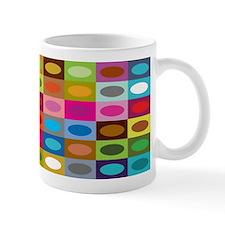 Rectangles Coffee Small Mug
