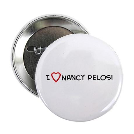 I Love Nancy Pelosi Button