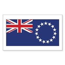 Cook Flag Decal