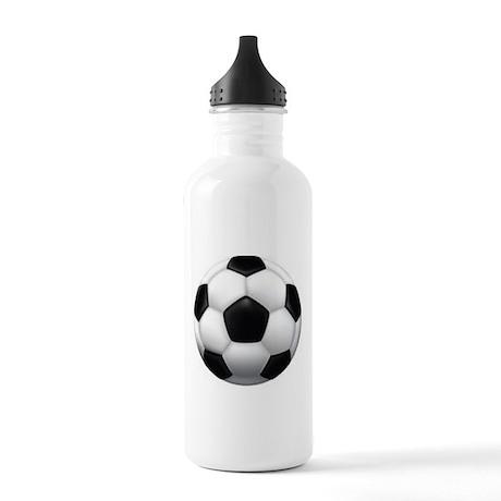 Soccer Ball Stainless Water Bottle 1.0L