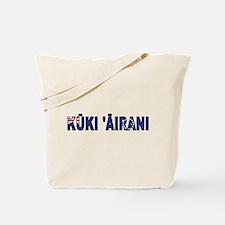 Cook (Maori) Tote Bag