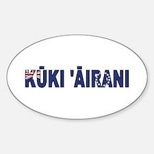 Cook (Maori) Decal
