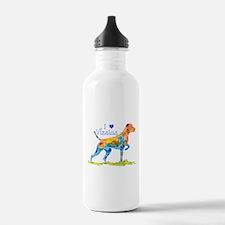 I LOVE HUNGARIAN VIZSLAS GIFTS Water Bottle