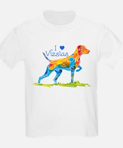 I LOVE HUNGARIAN VIZSLAS GIFTS T-Shirt