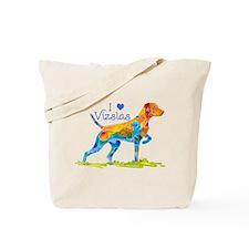 I LOVE HUNGARIAN VIZSLAS GIFTS Tote Bag