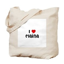 I * Elaina Tote Bag