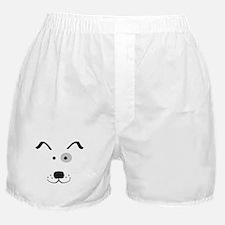 Cartoon Dog Face Boxer Shorts