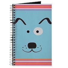Cartoon Dog Face Journal