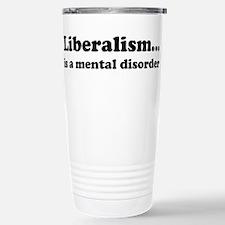 Liberalism Stainless Steel Travel Mug