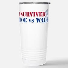 Roe vs Wade (hand) Stainless Steel Travel Mug