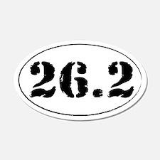 26.2 - Marathon 22x14 Oval Wall Peel