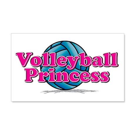 V-ball Princess 22x14 Wall Peel